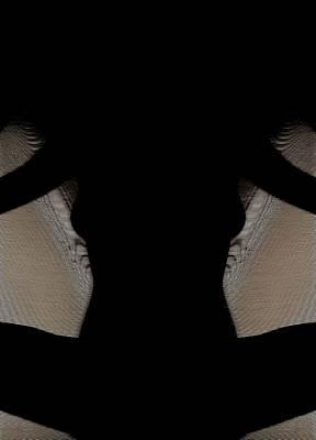 Digital Art - Profile Visualis by Mario Carini