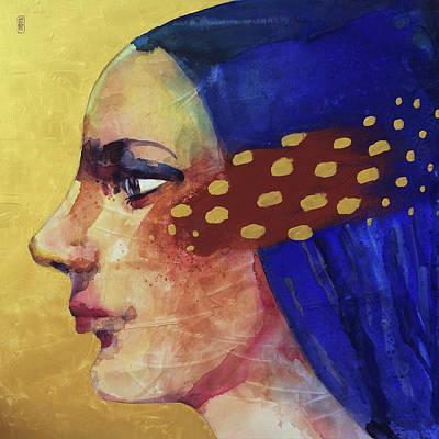 Profilo Di Donna Art Print by Alessandro Andreuccetti