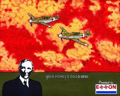 Profits Of War Original by Andrew Broadbent
