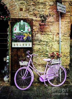 Photograph - Profumato Bicycle by Craig J Satterlee