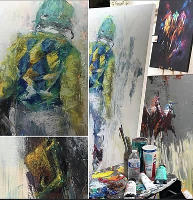 Painting - Progress by Heather Roddy