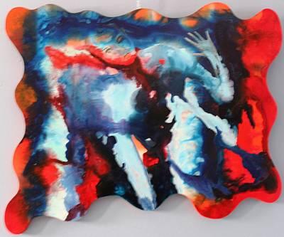 Painting - Progressiv Pop Art 022 by Mario Sergio Calzi