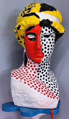 Sculpture - Progressiv Pop Art Msc 002    by Mario Sergio Calzi