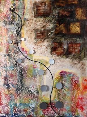 Painting - Progressiv Pop Art Msc 019 by Mario Sergio Calzi