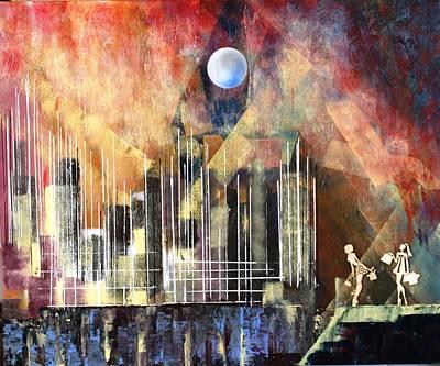 Painting - Progressiv Pop Art Msc 021 by Mario Sergio Calzi