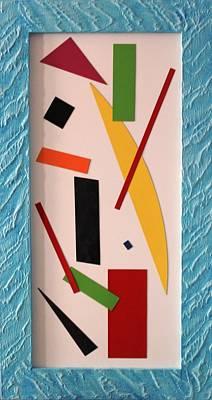 Painting - Progressiv Pop Art Msc 023 by Mario Sergio Calzi