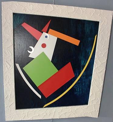 Painting - Progressiv Pop Art Msc 024 by Mario Sergio Calzi