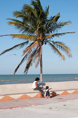 Digital Art - Progresso Beach by Carol Ailles