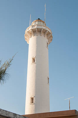 Vermeer Rights Managed Images - Progresso Lighthouse tower Royalty-Free Image by Carol Ailles