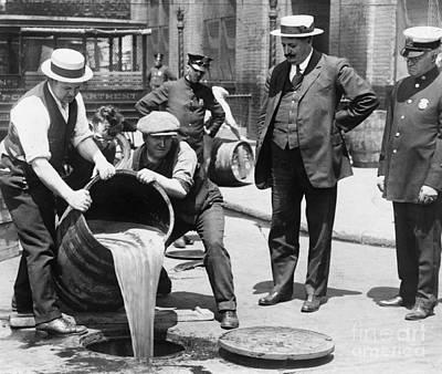 Photograph - Prohibition, C1921 by Granger