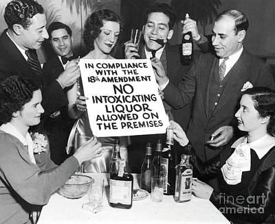 Prohibition Ends Let's Party Art Print