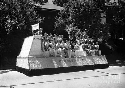 Sloppy Joes Bar Photograph - Prohibition Parade Float by Jon Neidert
