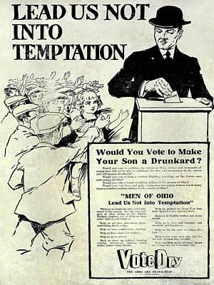 Propaganda Photograph - Prohibition Propaganda  by Jon Neidert