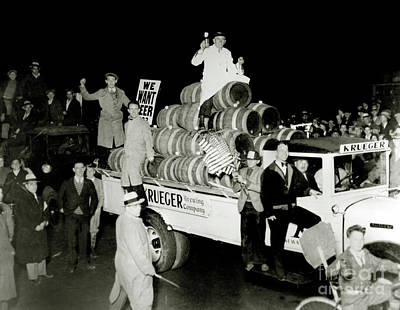 Celebrate Photograph - Prohibition Protest by Jon Neidert