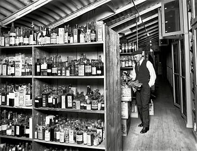 Prohibition Treasury Dept Lab 1920s Art Print