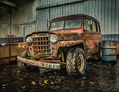 Photograph - Project Jeep by Bill Posner