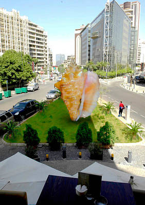 Sculpture - Project Lebanon by Arlin Jules
