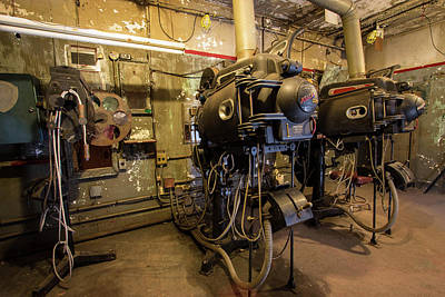 Photograph - Projection Room by Michael Porchik