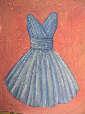 Cotillion Painting - Prom Dress by Tara Lewis