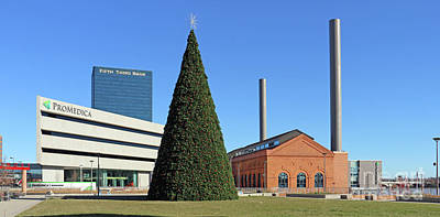 Photograph - Promedica Christmas Tree 5082 by Jack Schultz