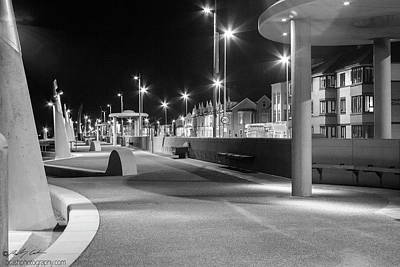 Photograph - Promenade At Night by Beverly Cash