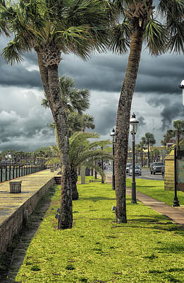Photograph - Promenade by Joedes Photography