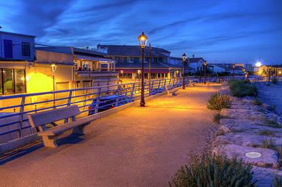 Photograph - Promenade Near The Sea, Saintes-maries-de-la-mer, France, Hdr by Elenarts - Elena Duvernay photo