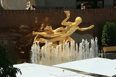 Prometheus -  Rockefeller Center Art Print
