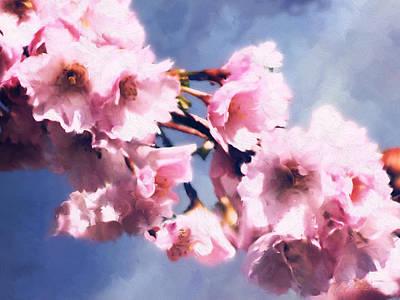 Digital Art - Promise Of Spring - Crop2 by Patrick Turner