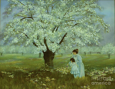 Painting - Promise Of Spring by Jeanette French