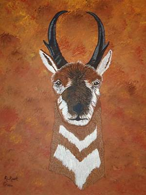 Painting - Pronghorn Buck by Ralph Root