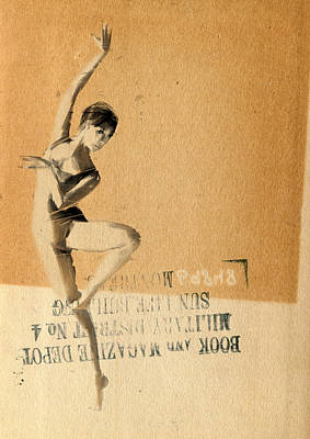 Collage Drawing - Propaganda by H James Hoff