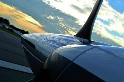 Photograph - Propeller Sunrise by Jason Bohannon