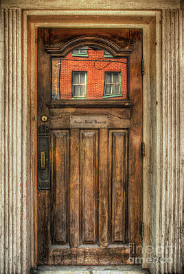 Old Door Photograph - Proper Dress Required by Lois Bryan