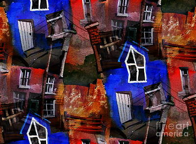 Painting - Property In Ireland by Val Byrne