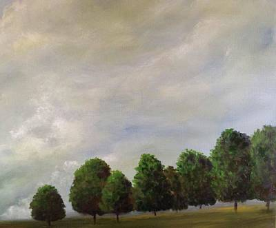Painting - Property Line by T Fry-Green