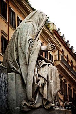 Marble Photograph - Prophet Isaiah By Revelli by HD Connelly