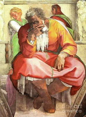 Painting - Prophet Jeremiah by Pg Reproductions