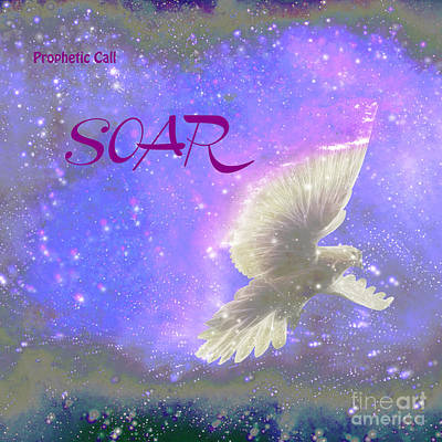 Prophetic Call Soar Art Print by Beverly Guilliams
