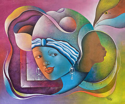 Handicapped Painting - Prophetic Dream by Herold Alvares