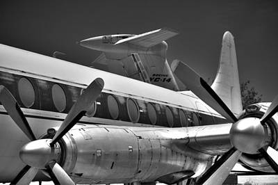Photograph - Props And Tails In Black And White  by Kevin Munro