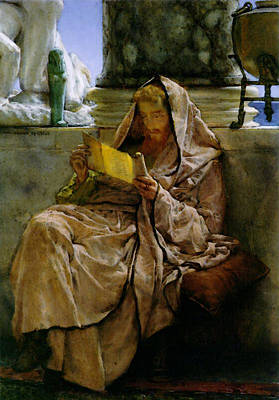 Prose Digital Art - Prose by Lawrence Alma Tadema