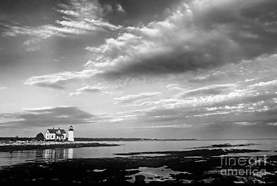 Photograph - Prospect Harbor Lighthouse by Scott Kemper