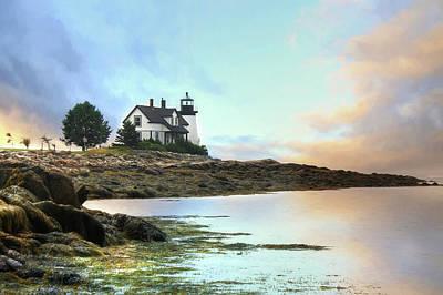Gulf Of Maine Photograph - Prospect Harbor by Lori Deiter