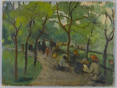 Prospect Park Art Print by George Benjamin