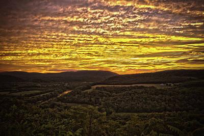 Photograph - Prospect Peak Sunset 1 by Daniel Houghton