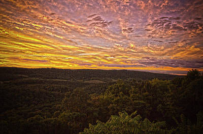 Photograph - Prospect Peak Sunset 2 by Daniel Houghton