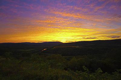 Photograph - Prospect Peak Sunset 4 by Daniel Houghton
