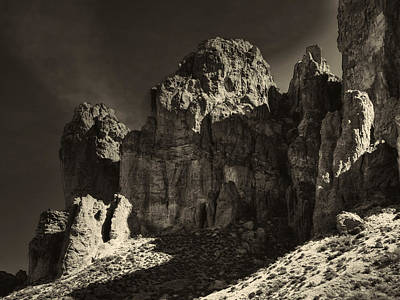 Photograph - Prospector's View Lost Dutchman State Park by Roger Passman