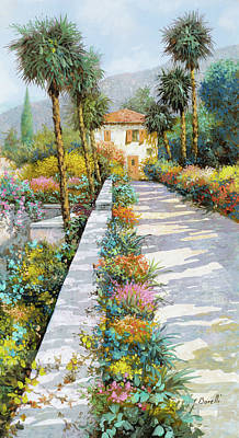 Royalty Free Images - Prospettiva Del Lago Royalty-Free Image by Guido Borelli
